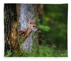 Hide N Seek Fleece Blanket