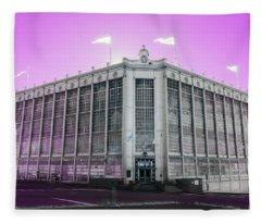 Higgins Armory In Infrared Fleece Blanket