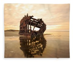 High And Dry, The Peter Iredale Fleece Blanket