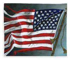 High Crimes And Misdemeanors Fleece Blanket