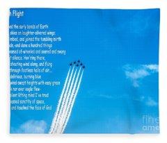 High Flight Fleece Blanket