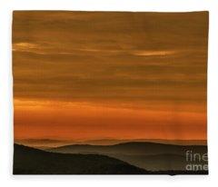 Highland Daybreak Fleece Blanket