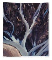 Highland Rivers Fleece Blanket