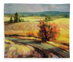 Highland Road Fleece Blanket