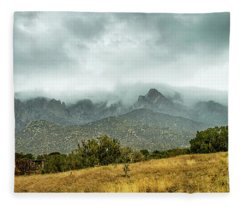 Hike Before The Storm Fleece Blanket