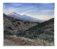 Hiking Johnson's Pasture Fleece Blanket