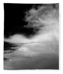 Hill Top Cross Fleece Blanket