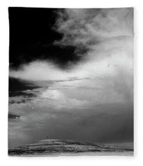 Hill Top Cross Fleece Blanket