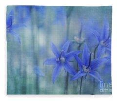 Hillside Blues Fleece Blanket