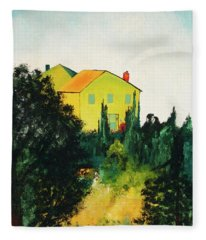 Hillside Romance Fleece Blanket