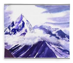 Himalaya Fleece Blanket