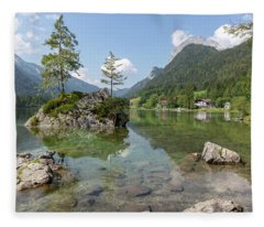 Hintersee, Bavaria Fleece Blanket