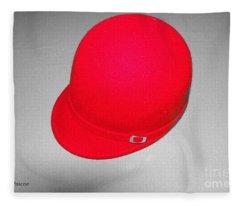 Hints Of Red - Hat Fleece Blanket