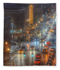 Hippodrome Theatre - Baltimore Fleece Blanket