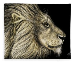 His Majesty Fleece Blanket