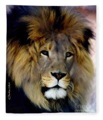 His Majesty The King Fleece Blanket