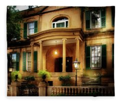 Historic Carriage House Fleece Blanket