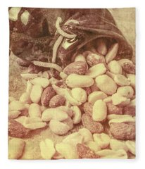 Historic Food Art Fleece Blanket