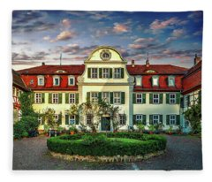 Historic Jestadt Castle Fleece Blanket