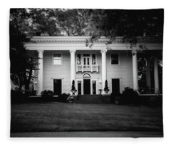Historic Southern Home Fleece Blanket