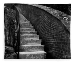 Historic Stairwelll Fleece Blanket