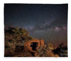 History Under The Stars Fleece Blanket