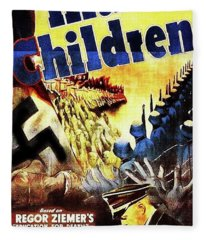 Hitlers Children Theatrical Poster 1943 Fleece Blanket