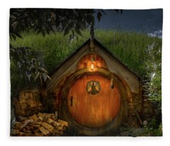 Hobbit Dwelling Fleece Blanket