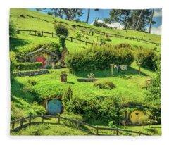 Hobbit Hills Fleece Blanket