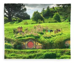 Hobbit Lane Fleece Blanket
