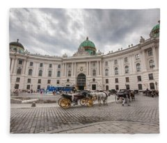 Hofburg Palace Fleece Blanket