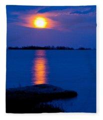 hog Island Fleece Blanket