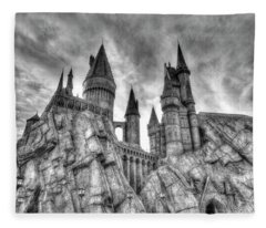 Hogwarts Castle 1 Fleece Blanket