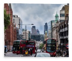 Holborn - London Fleece Blanket