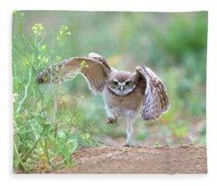 Hold On, I'm Comin' Fleece Blanket