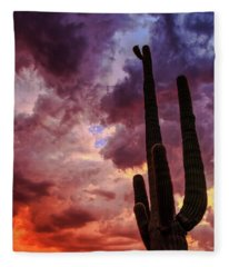 Hole In The Sky Fleece Blanket