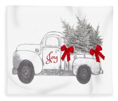 Holiday Joy Chesilhurst Farm Fleece Blanket