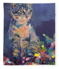 Tabby Fleece Blankets