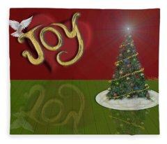 Holiday Reflection Fleece Blanket