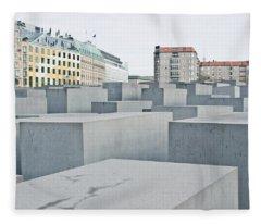 Holocaust Memorial Fleece Blanket