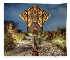Holy Family Shrine Fleece Blanket