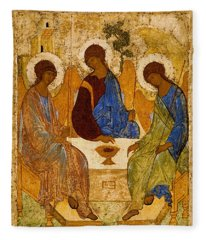 Holy Trinity. Troitsa Fleece Blanket