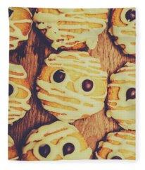 Homemade Mummy Cookies Fleece Blanket