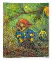 Honey Bear Fleece Blanket