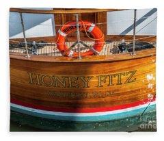 Honey Fitz Fleece Blanket