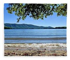 Honey Suckel Cove, Smith Mountain Lake Fleece Blanket
