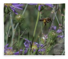 Honeybee 2 Fleece Blanket