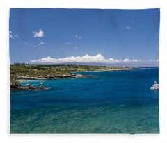 Honolua Bay Fleece Blanket