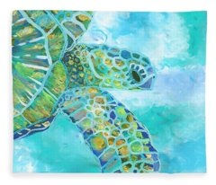 Honu 11 Fleece Blanket