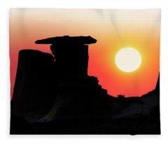 Hoodoo Sunrise Fleece Blanket